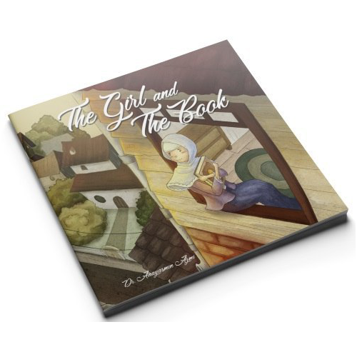 The Girl and The Book - Iman Shoppe Bookstore