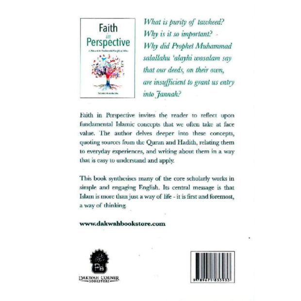 Dakwah Corner Bookstore Buku Faith in Perspective	by Natasha Kamaluddin ISFIP