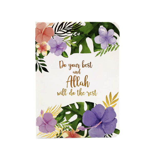 Allah Will Do The Rest Luxe A6 Notebook - Iman Shoppe Bookstore