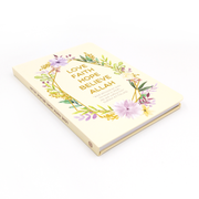 Love Faith Hope Luxe A5 Notebook - Iman Shoppe Bookstore