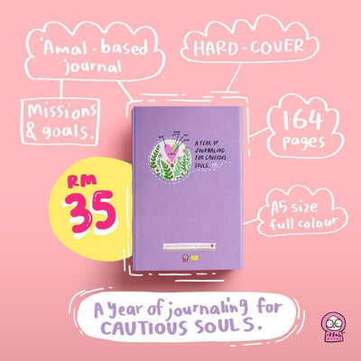 A Year Of Journaling For Cautious Souls - Iman Shoppe Bookstore