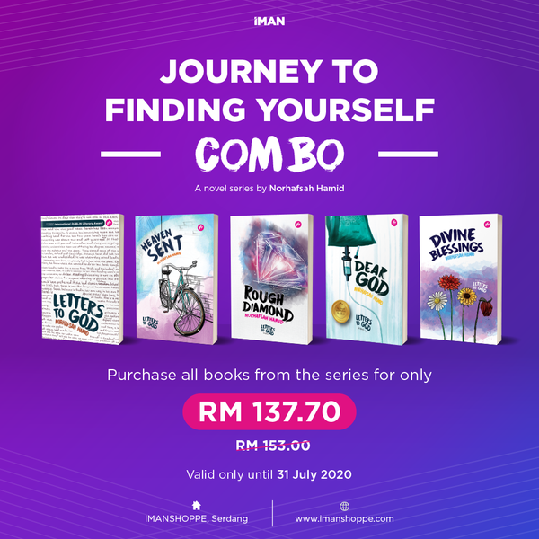 Journey To Finding Yourself Combo - Iman Shoppe Bookstore