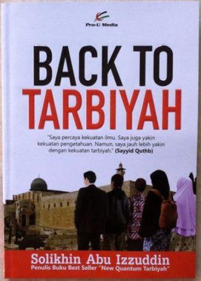 Back To Tarbiyah - Iman Shoppe Bookstore