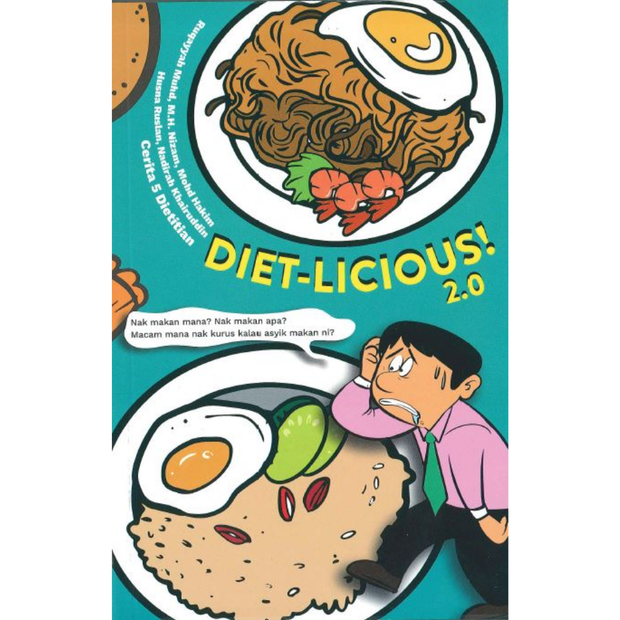 Diet-licious! 2.0 - Iman Shoppe Bookstore