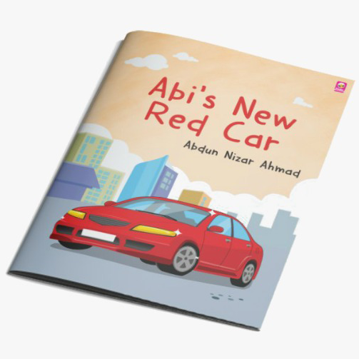 Abi's New Red Car - Iman Shoppe Bookstore
