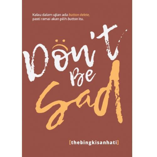 Don't Be Sad - Iman Shoppe Bookstore