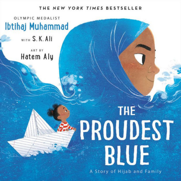 PANSING DISTRIBUTION Buku The Proudest Blue by Ibtihaj Muhammad & S. K. Ali ISTPB
