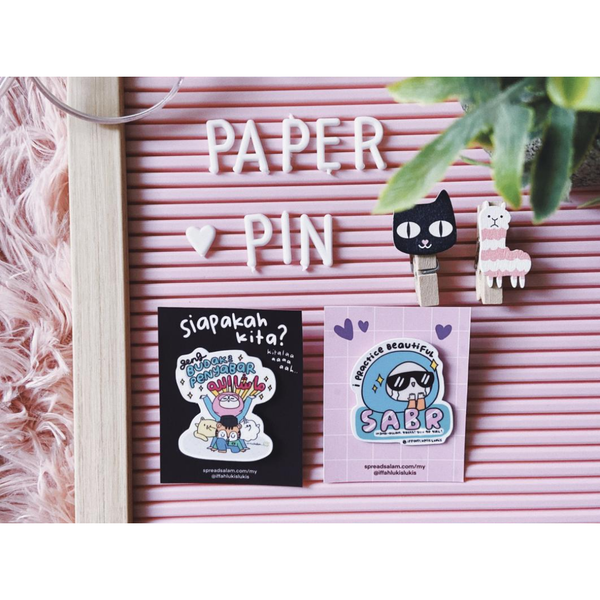 Paper Pin - Iman Shoppe Bookstore