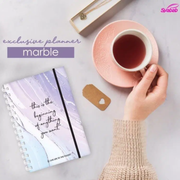 Syabab Planner Marble Exclusive Planner SYABAB 2021
