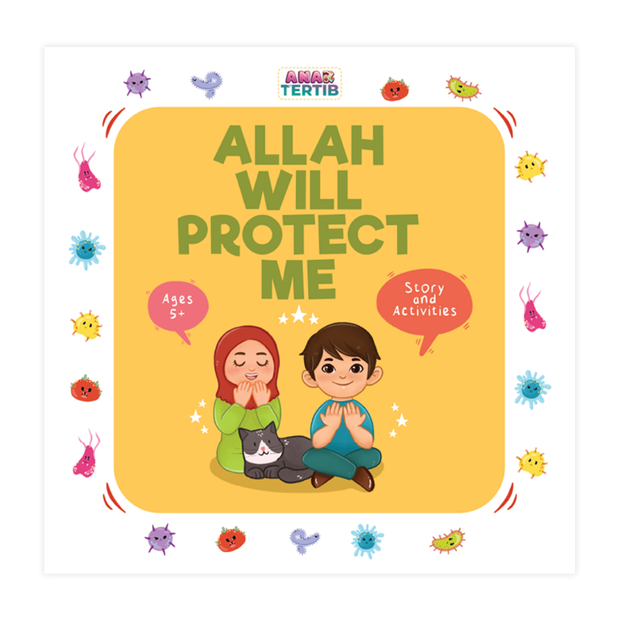 Tertib Publishing Buku Allah Will Protect Me by Sidra Hashmani ISAWPM