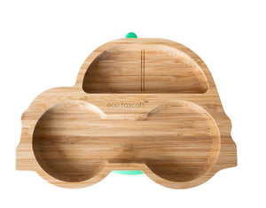 Bamboo Suction Plate: Car