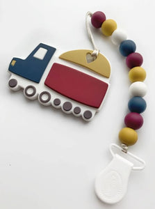 Clip & Teether: Dump Truck