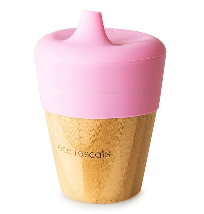 Small Cup & Sippy Topper: Pink