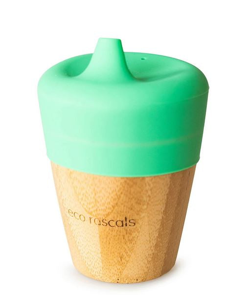 Small Cup & Sippy Topper: Green