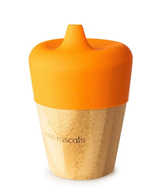 Small Cup & Sippy Topper: Orange