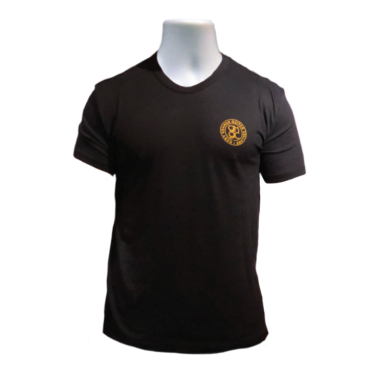 Men's Fitted Black T-Shirt