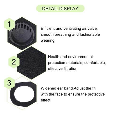 best surgical face mask with valve system