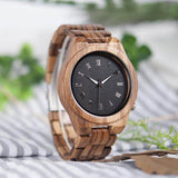 "BOBO BIRD ""Classic Minimalist"" Wooden Watch - Nature N Tec"