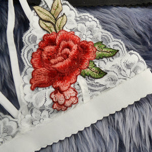 Lace Embroidery Bra