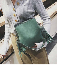 Tassel Strap Shoulder Bag