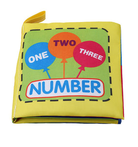 Early Learning Number Cloth Book