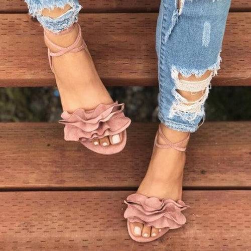 Flowers Decor Sandals