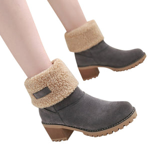 PU Leather Short BootS
