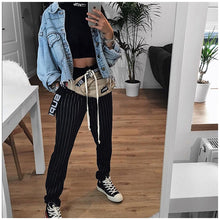 High Waist Denim Jacket