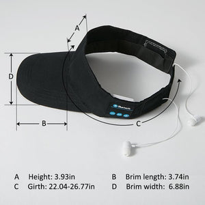 Bluetooth baseball cap with Wireless Earphone for Smart Bluetooth Device