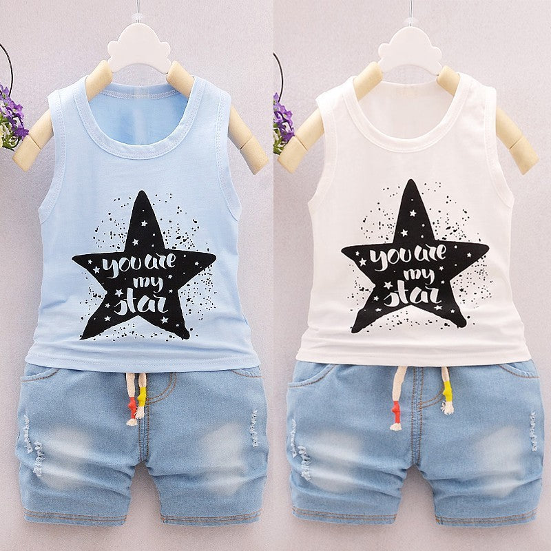 Baby Short-SleevedTwo Piece Set