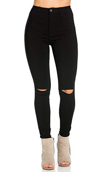 Super High Waisted Stretchy Skinny Jeans