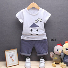 2 Piece Set Baby Short-Sleeved Suit