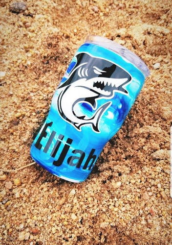 Customized Shark Tumbler