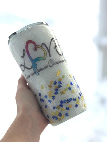 Down Syndrome Awareness Tumbler
