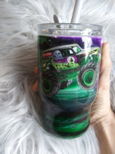 Load image into Gallery viewer, Grave digger tumbler
