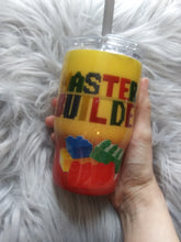 Load image into Gallery viewer, Lego Master Builder Tumbler