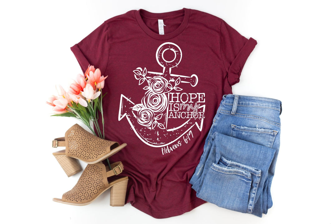 Hope is my Anchor Tee