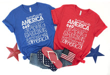 Load image into Gallery viewer, America America America Tee