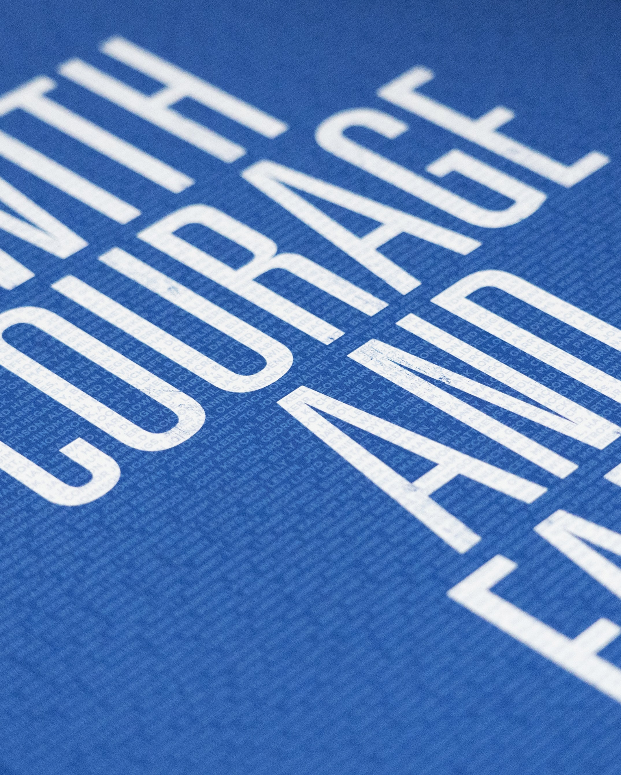 Club motto print – Stockport County