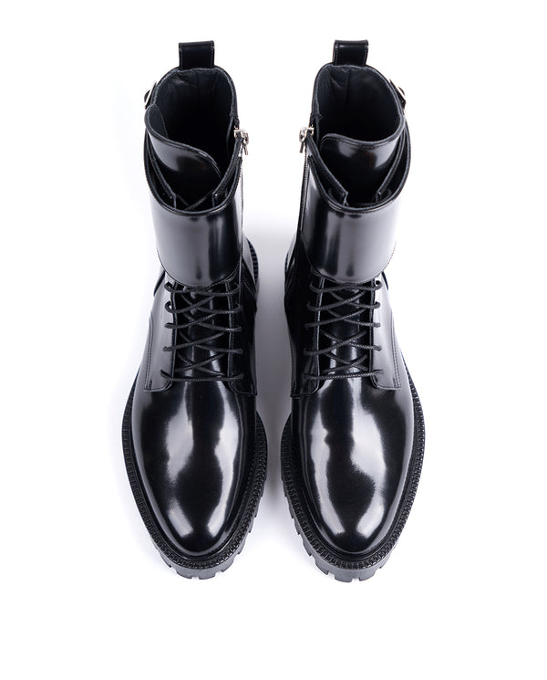 Camden Double Monk Boots