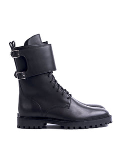 SOFT CAMDEN DOUBLE MONK BOOTS