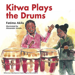 Kitwa Plays the Drums