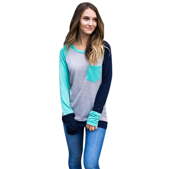 Ashley Shirt - Gray, Blue & Blue-Green