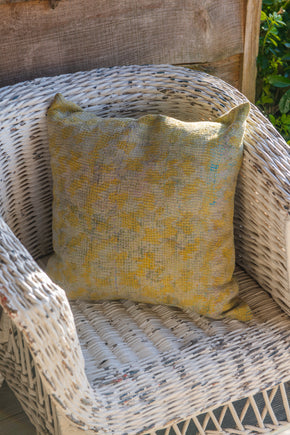 Vintage Faded Kantha Cushion Covers (square)