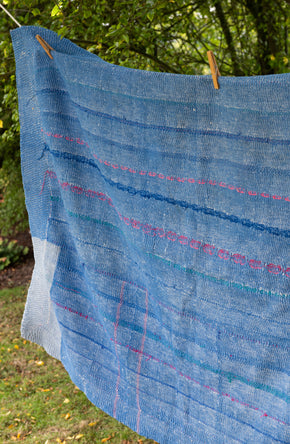 Small Vintage Kantha Quilt