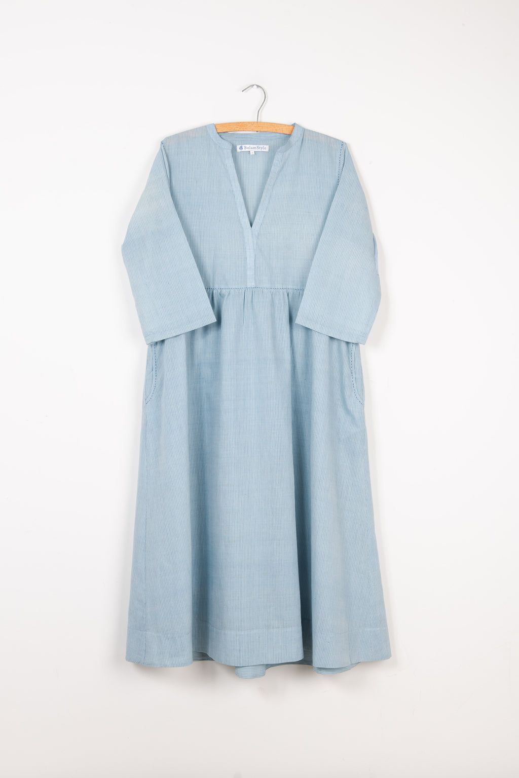New Style Khadi Dress with Running Stitch *one remaining*