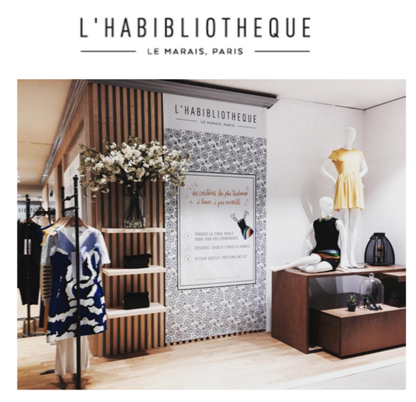 Lunch in L'Habibliotheque Boutique, Paris