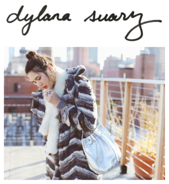Libertie in Metallic Silver on Dylana Suarez