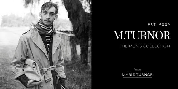 M.TURNOR MENS COLLECTION HEADER