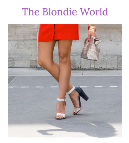 The Blondie World Paris Marie Turnor Clutch